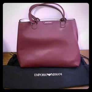 Emporio Armani Leather Handbag (New)
